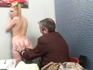 Innocent Darling Is Seduced By An Old And Horny Teacher