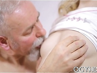 Cute Young Gal Fucked By Old Dude