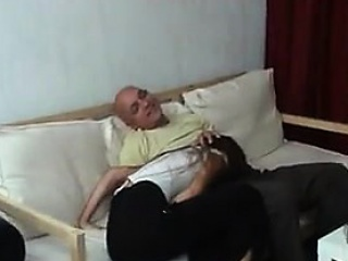Russian Slut Fucks Step Dad
