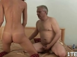 Sweetheart Is Delighting Hungry Stud With Her Fuck Holes